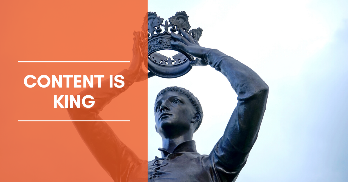 Content is King — The Power of Consistent Content